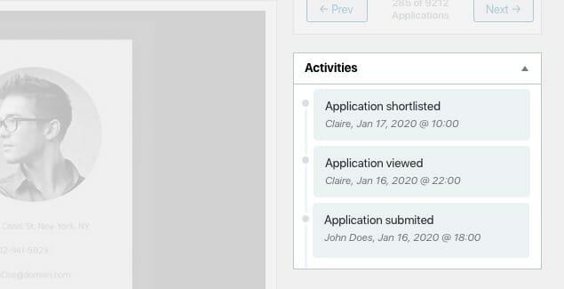 wpjo activities widget